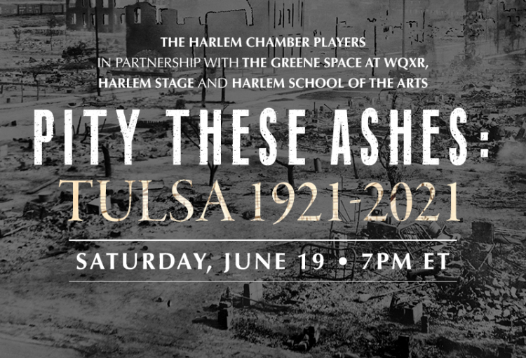 Pity These Ashes: Tulsa 1921 - 2021